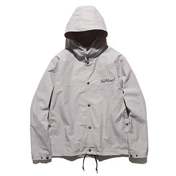 """DEADBEATS"" 60/40 HOODED COACHES JACKET"