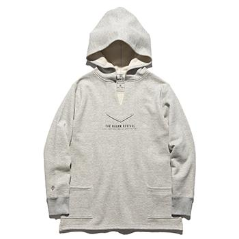 """LOGO"" PREMIUM MEXICAN SWEAT PARKA"