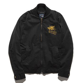 STAR CROSSED BOMBER