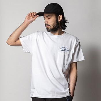 """LOCAL SAVAGES"" 9.3oz H/W POCKET TEE"