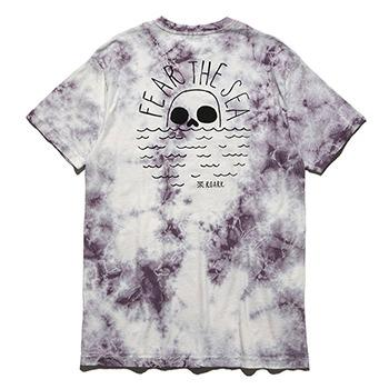 """FEAR THE SEA"" TIE DIE TEE"