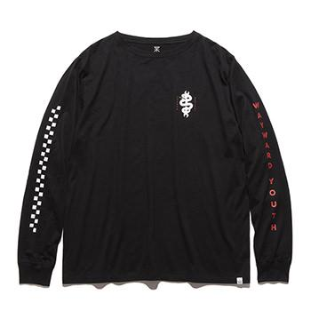 """WRENCHED"" L/S TEE"