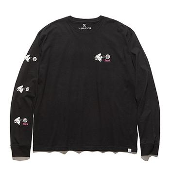 """WORDLY VIEWS"" L/S TEE"