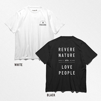 "Charity Tee - ""REVERE NATURE LOVE PEOPLE"""