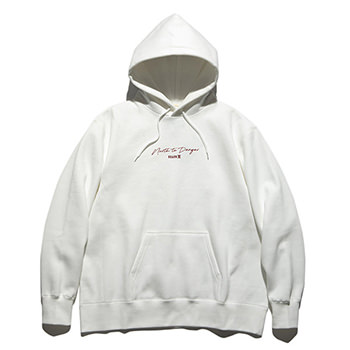 """NORTH TO DANGER"" P/O HOODED SWEAT"