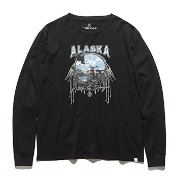 """NORTH TO DANGER"" L/S TEE"