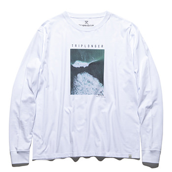 """TRIPLONGER"" L/S PHOTO TEE"