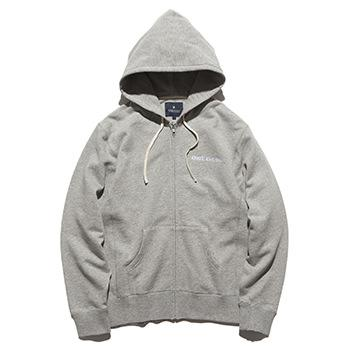 """KANG-FU DUB"" F/Z HOODED L/W SWEAT"