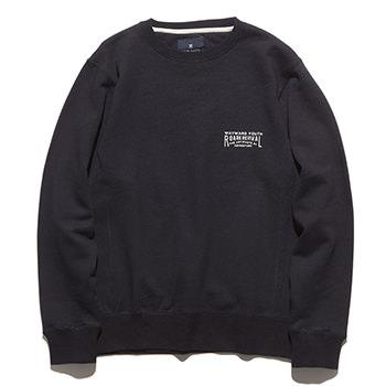 """INSCRIPTION"" CREW NECK L/W SWEAT"