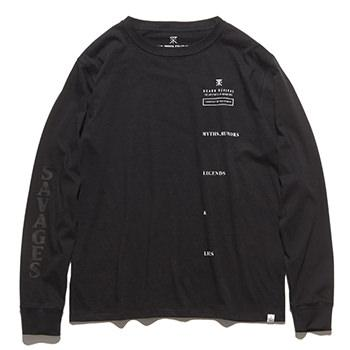 """LEGENDS&LIES"" L/S TEE"