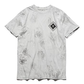 """DEM WAYWARDS"" MARBLE WASH TEE"