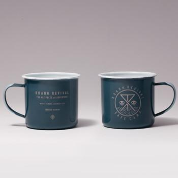 """SAFE CAMP""ENAMEL MUG"