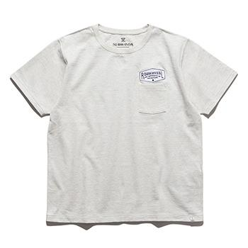 """INSCRIPTION"" 9.3oz H/W POCKET TEE"