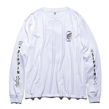 """TRIPPIN&SIPPIN"" L/S TEE"